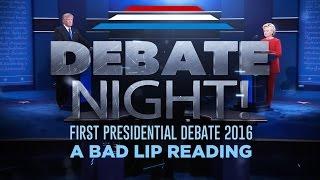 """DEBATE NIGHT!"" — A Bad Lip Reading of the first 2016 Presidential Debate"