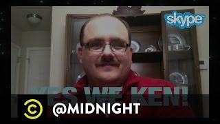 Chris Meets American Hero, Ken Bone - @midnight with Chris Hardwick