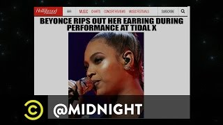 Die-Hard Beyonce Fans Show Their Support - @midnight with Chris Hardwick