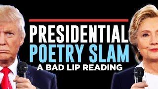 """PRESIDENTIAL POETRY SLAM"" — A Bad Lip Reading of the Second Presidential Debate"