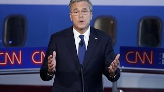 Jeb Bush Pretends GOP Candidates Aren't Influenced By Big Money