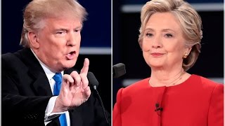 Trump Ties Hillary Nationally A Week Before The Election