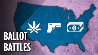 Weed, Guns & Minimum Wage: What Else Is The U.S. Voting On?