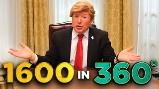 Inside Trump's Oval Office (in 360!)