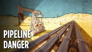 How Dangerous Are America's 2.5 Million Miles Of Oil Pipelines?
