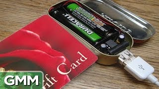 The Battery Powered Gift Card