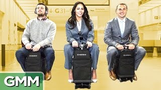 Coolest Luggage You Can Ride