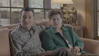 Ted Cruz Awkwardly Coaches Family Through Campaign Ad