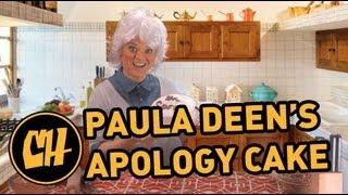 Paula Deen Bakes an Apology Cake