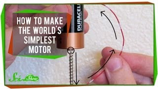 How to Make the World's Simplest Motor: SciShow Experiments
