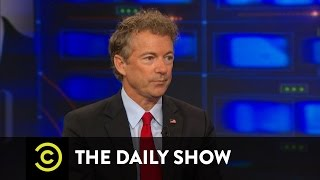 The Daily Show - Rand Paul Pt. 1