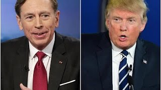 Trump Considers Disgraced General Petraeus For Secretary Of State