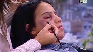 Moroccan TV Shows How To Hide Domestic Abuse With Makeup