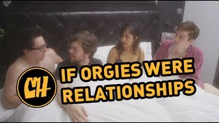 If Orgies Were Like Relationships