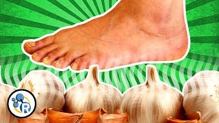 Can you taste garlic... through your FEET!? (Weird Food Tricks #2)