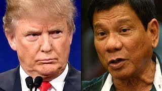 Trump Praises Dangerous Psychopathic President Of The Philippines
