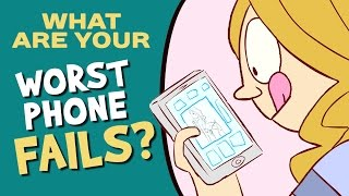 Our Most Embarrassing Phone Fails (Ask CH)