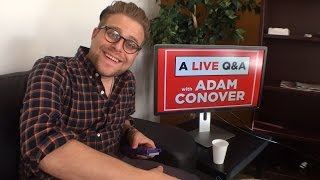 Adam Conover of Adam Ruins Everything Q&A LIVE!