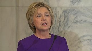 Hillary Clinton Calls For Legislation To Fight 'Fake News'
