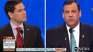 Chris Christie Absolutely Obliterates Marco Rubio