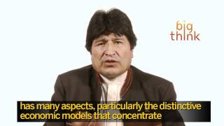 Evo Morales, President of Bolivia on Fidel Castro and American Foreign Policy