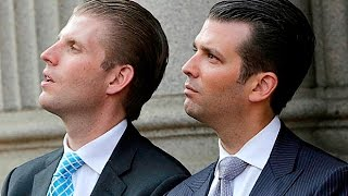 Trump's Sons Are Auctioning Time With Their Dad - For Millions