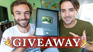SILVER PLAY BUTTON GIVEAWAY!!!