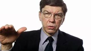 Clayton Christensen on Healthcare Innovators