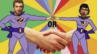 Fistbump vs Handshake