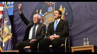 New York Governor Proposes Free College With Bernie