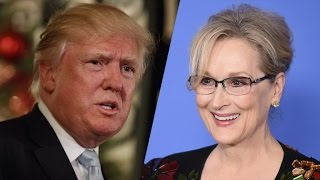 Trump Vs Meryl Streep | CNN Discusses The Serious Issues!