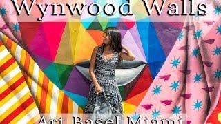 MEETING LEGENDS AT WYNWOOD WALLS    ART BASEL MIAMI