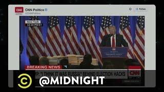 "Donald Trump's Elegant ""Inaugurination"" - @midnight with Chris Hardwick"