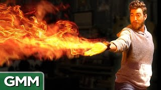 Real Firebending (Mini Flamethrower)