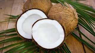 How To Crack Open a Coconut