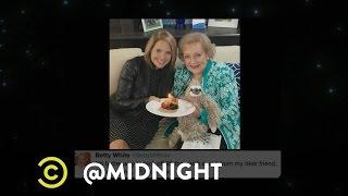Happy Birthday, Betty White - @midnight with Chris Hardwick