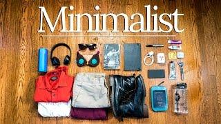 Minimalist DIY Travel ESSENTIALS   PRO Packing Tips ✈🌎