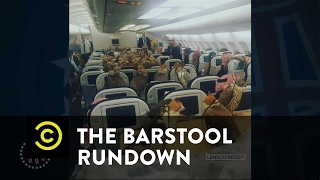 The Barstool Rundown: Live from Houston - A Saudi Prince's Falcons Travel in Style