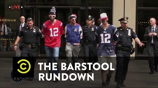 The Barstool Rundown: Live from Houston - Banned by the League