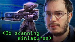 Wargame Miniatures 3D Scanned - Computerphile