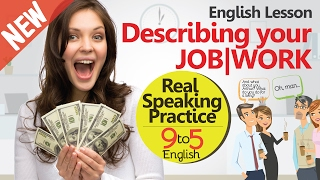 What do you do for a living? - English conversation practice - Learn English speaking for Business