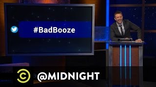 #HashtagWars - #BadBooze - @midnight with Chris Hardwick