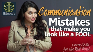 Improve communication skills - Don't look like a fool | Speak Confidently | Personality Development