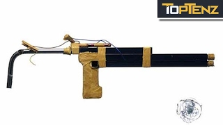 Top 10 CRAZY (Improvised) PRISON WEAPONS