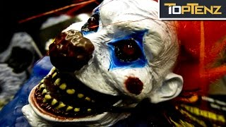Top 10 REAL Reasons CLOWNS Freak Us OUT