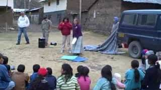 Teaching the Bible in Peru