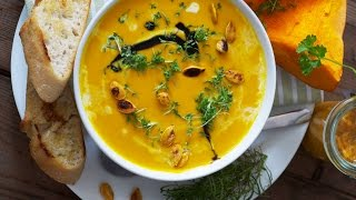 How To Make Creamy Pumpkin Soup
