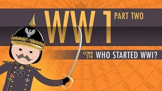Who Started World War I: Crash Course World History 210