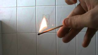 How To Light a Match On Fire Without a Tinderbox