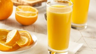 How To Make Fresh Orange Juice Quickly